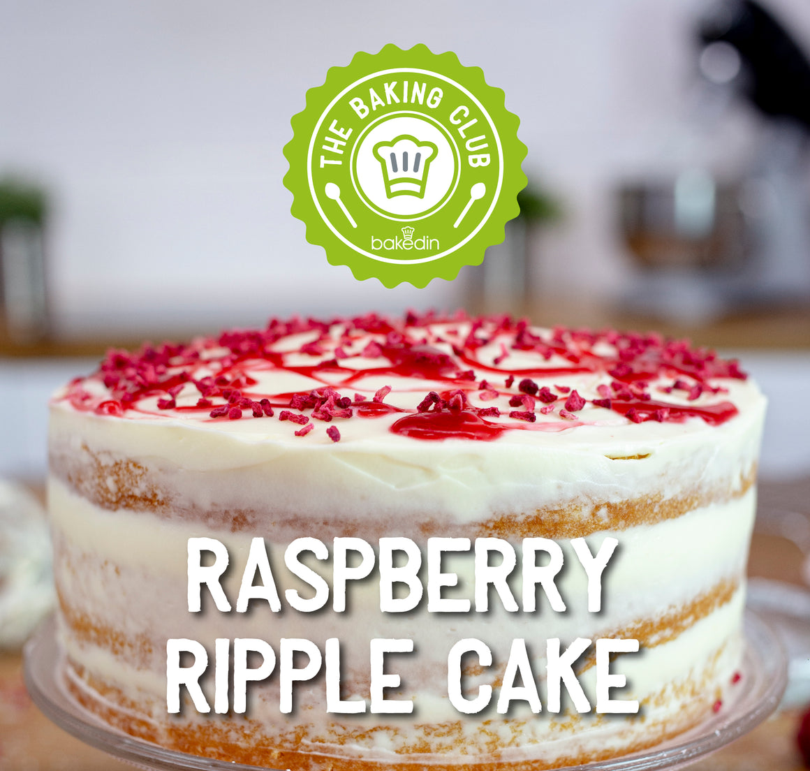 Past Baking Club Box - Raspberry Ripple Cake