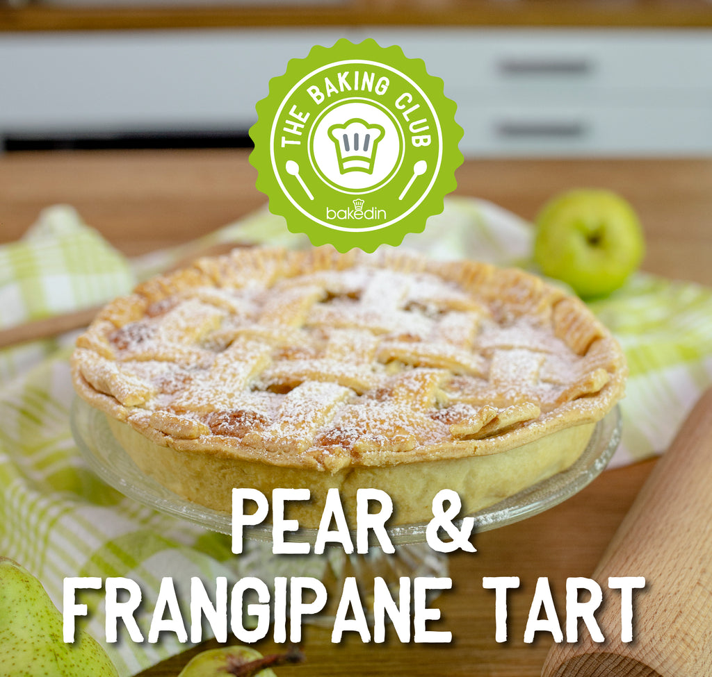 Past Baking Club Box - Pear & Frangipane Tart