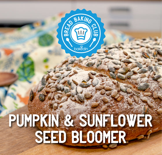 Past Bread Club Box - Pumpkin & Sunflower Seed Bloomer