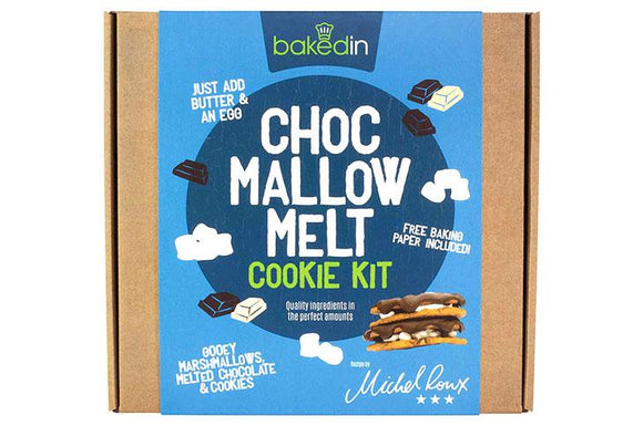 Bakedin Choc Mallow Melt Cookie Kit