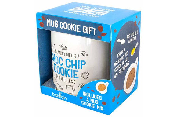 Bakedin Chocolate Chip Cookie Mug Gift Set