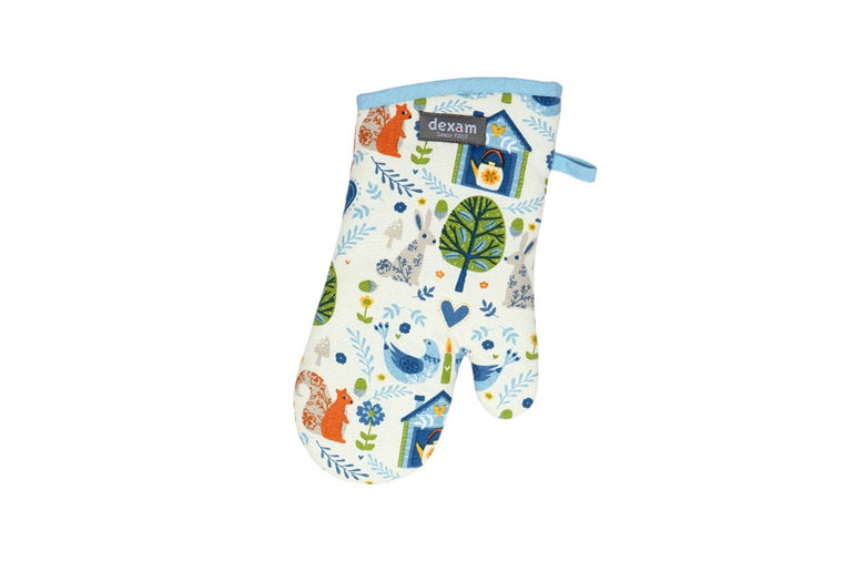 Bakedin Woodland Print Single Oven Glove