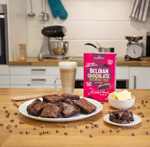 Belgian Chocolate Brownie Mix - special offer