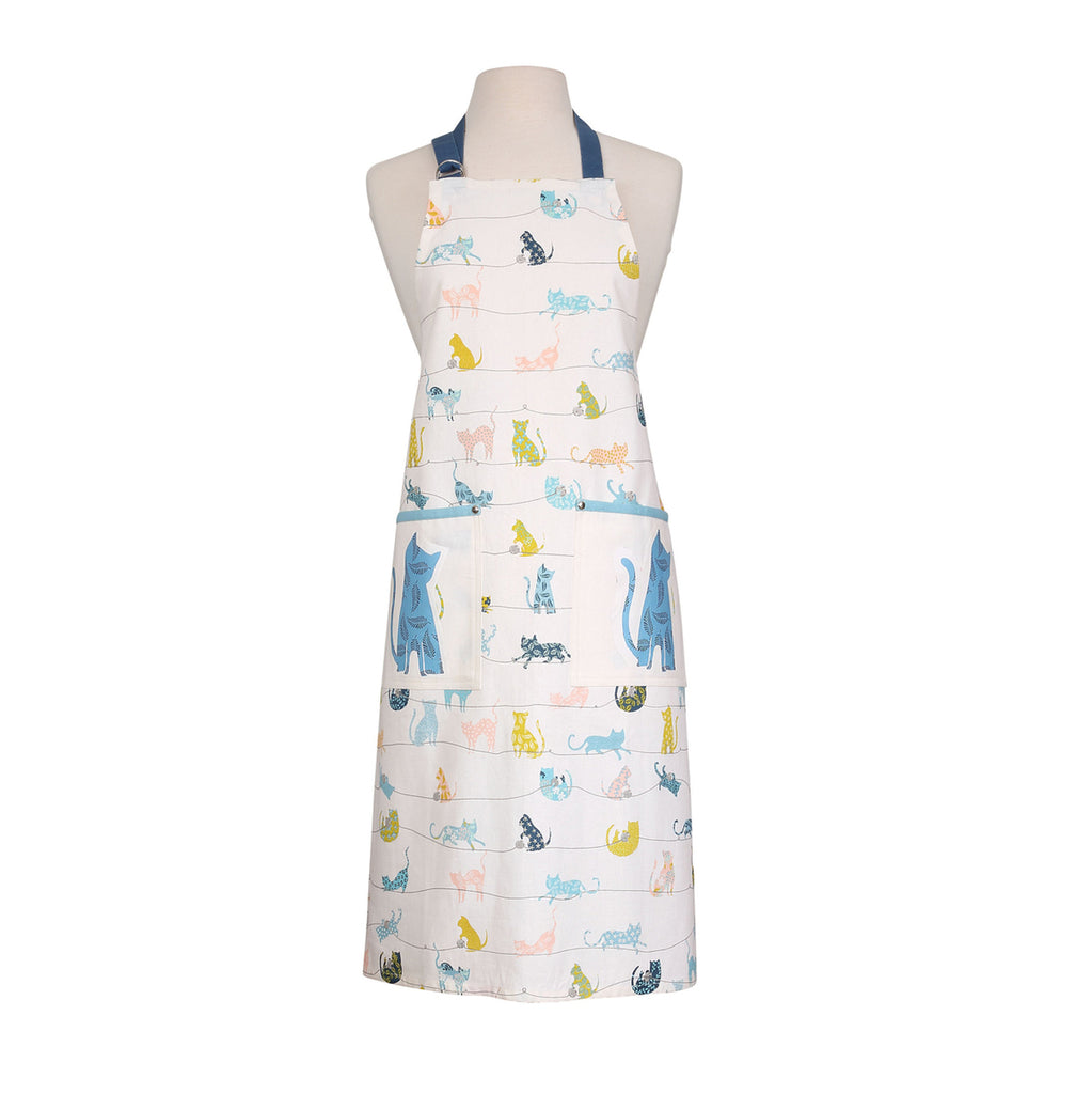 Curious Cats Apron