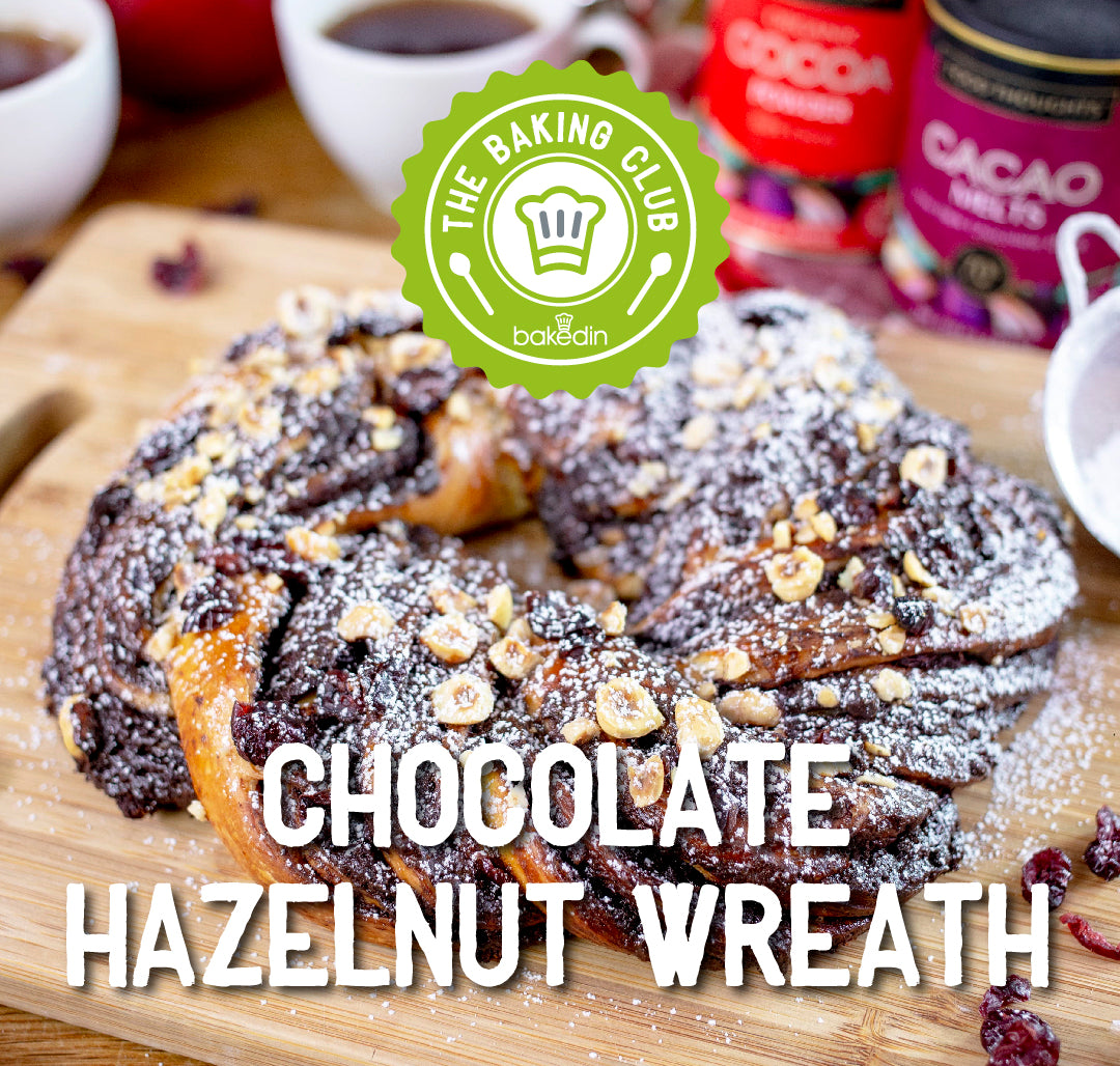 Past Baking Club Boxes - Chocolate Hazelnut Wreath