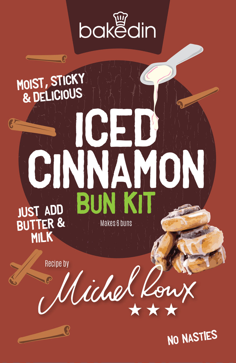 Iced Cinnamon Buns Kit - special offer