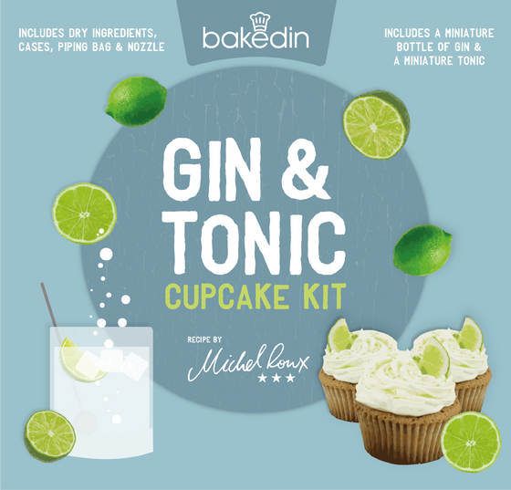 Gin and Tonic Cupcake Kit