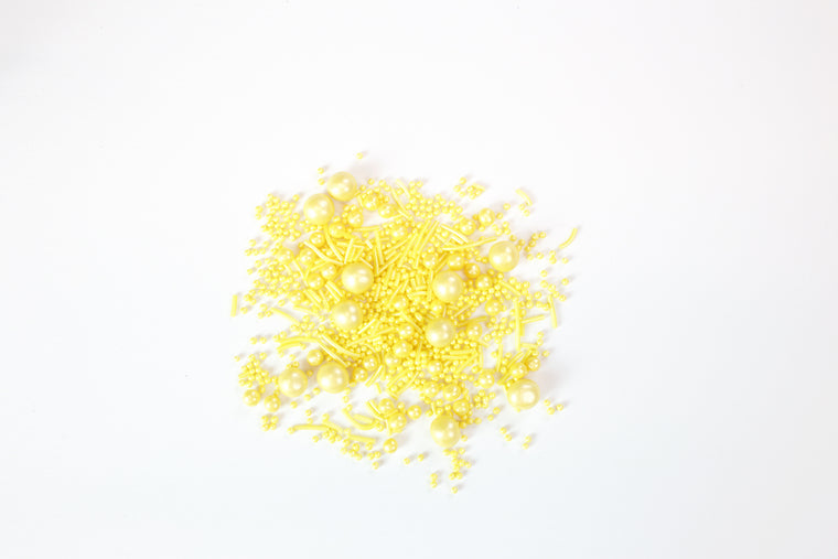Pearlised Yellow Sprinkles
