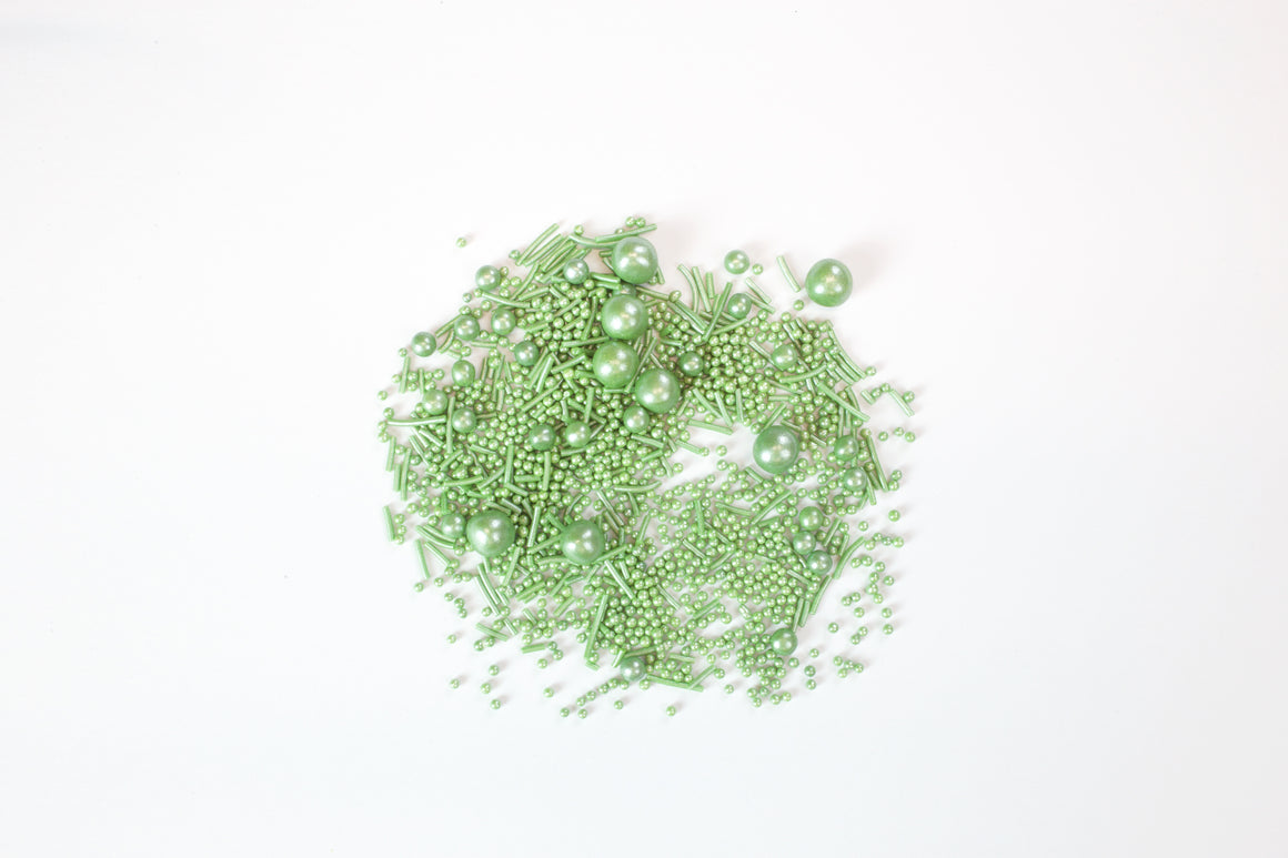Pearlised Green Sprinkles