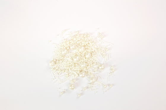 Pearlised White Sprinkles 70g