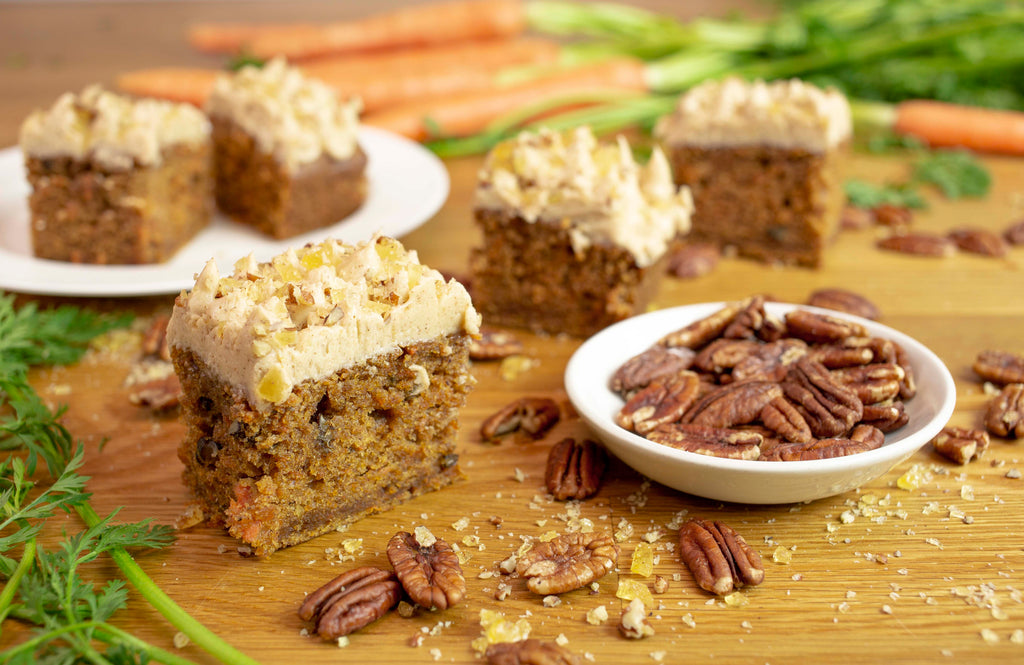 Past Baking Club Boxes - Carrot and Pecan Squares