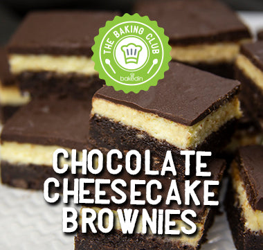 Past Baking Club Boxes - Chocolate Cheesecake Brownies