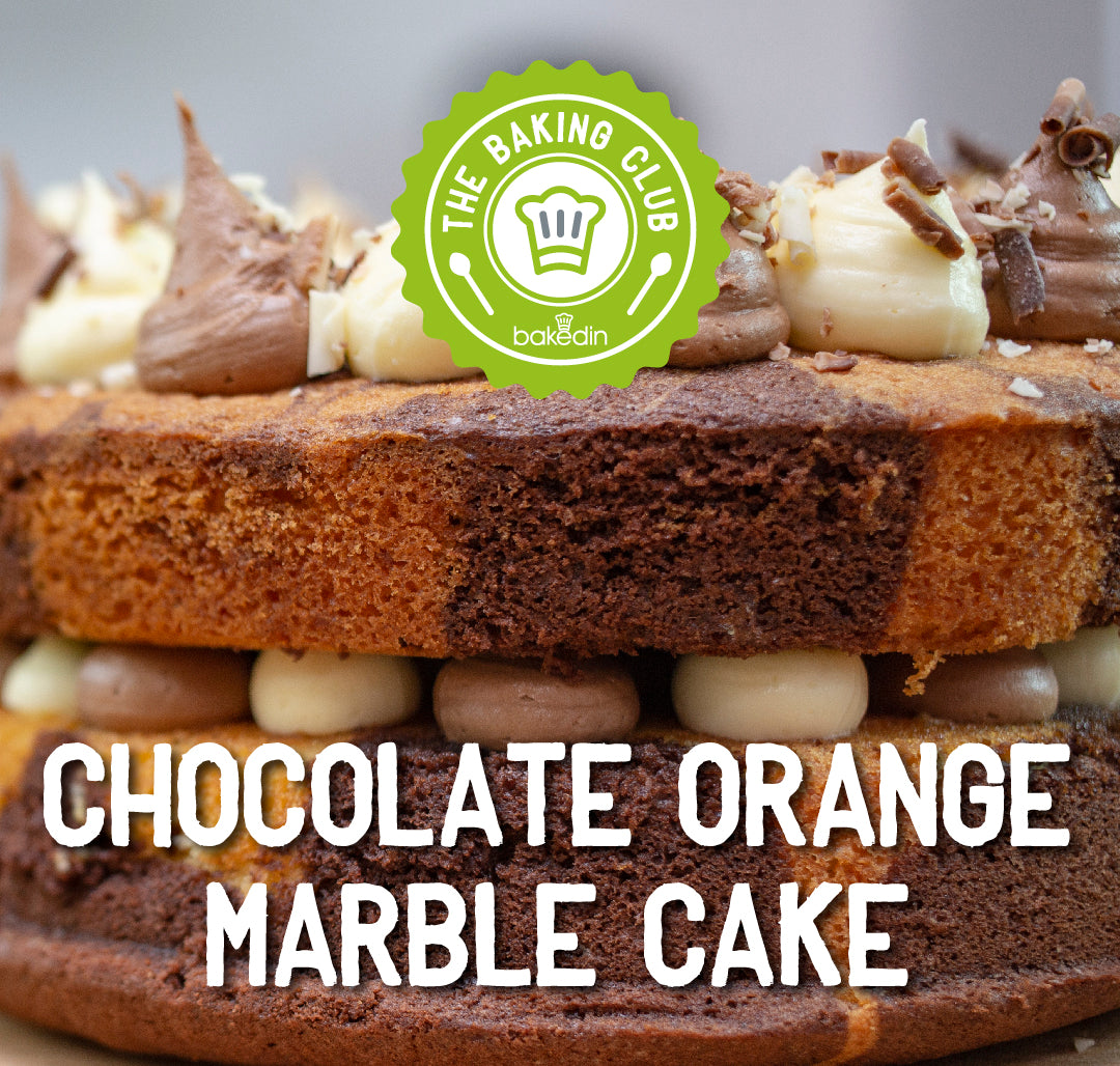 Past Baking Club Boxes - Chocolate Orange Marble Cake