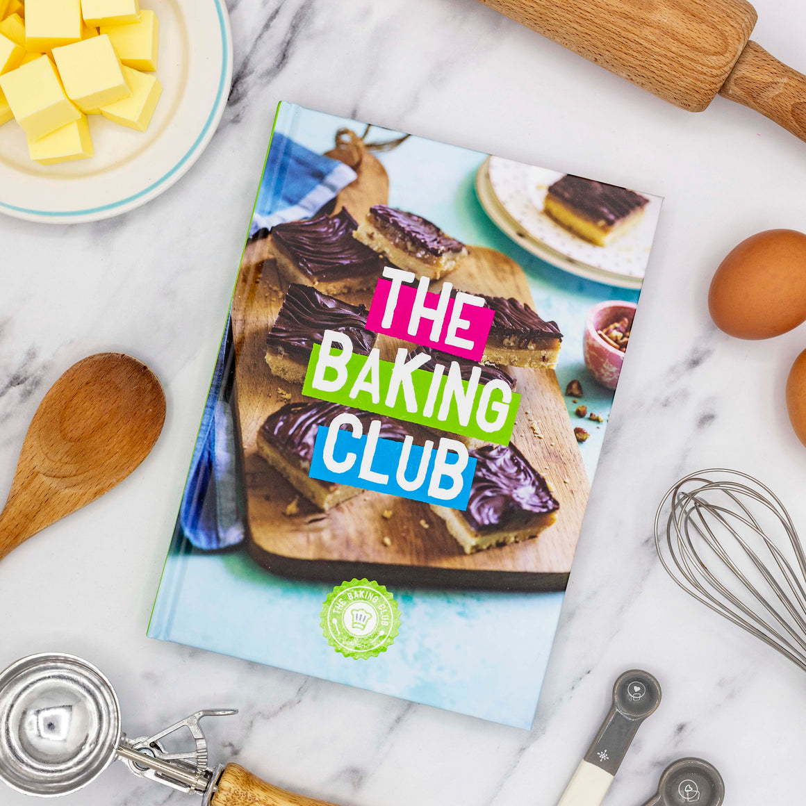 The Baking Club by Bakedin - Recipe Book