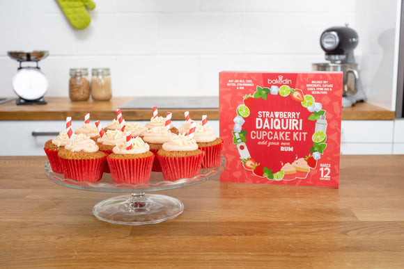 Strawberry Daiquiri Cupcake Kit