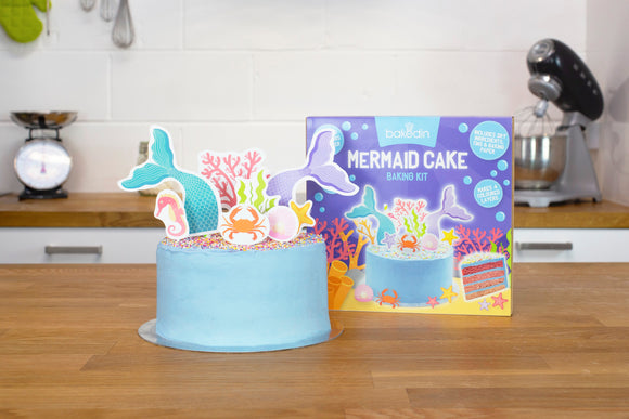 Mermaid Cake Baking Kit