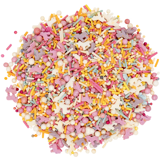 Rainbow Unicorn Sprinkles - 40g