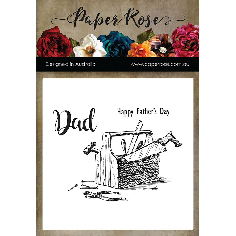 Paper Rose - Dad's Toolbox - Clear Stamps