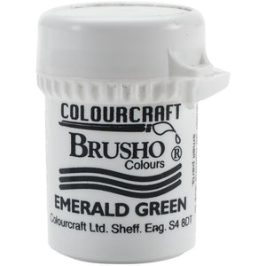 Colourcraft - Brusho Crystal Color - Emerald Green