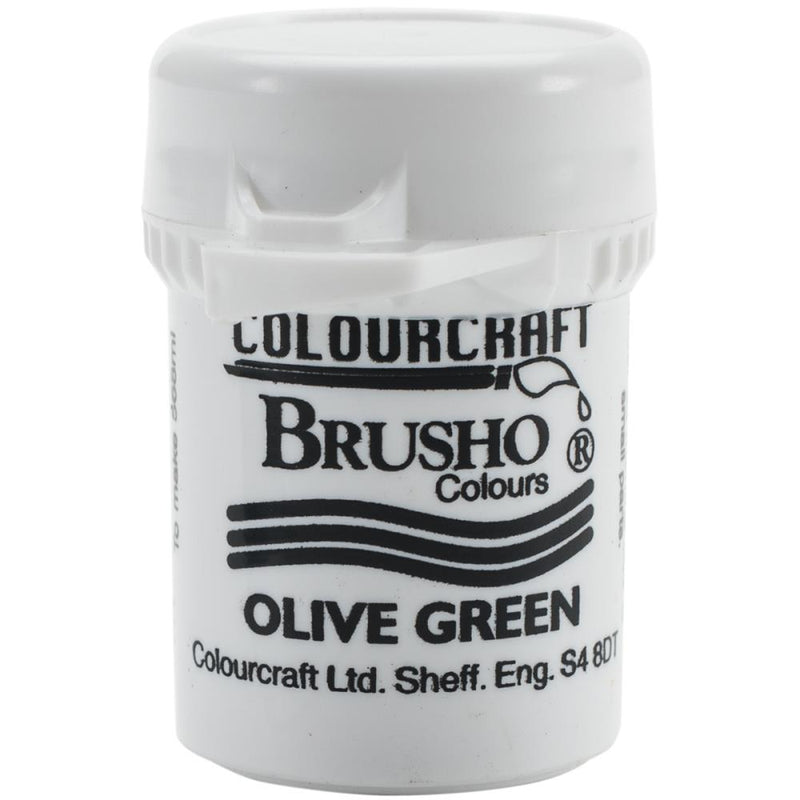 Colourcraft - Brusho Crystal Color - Olive Green