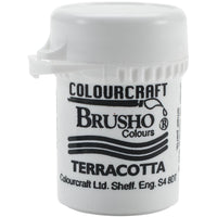Colourcraft - Brusho Crystal Color - Terracotta