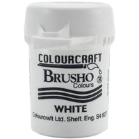Colourcraft - Brusho Crystal Color - White
