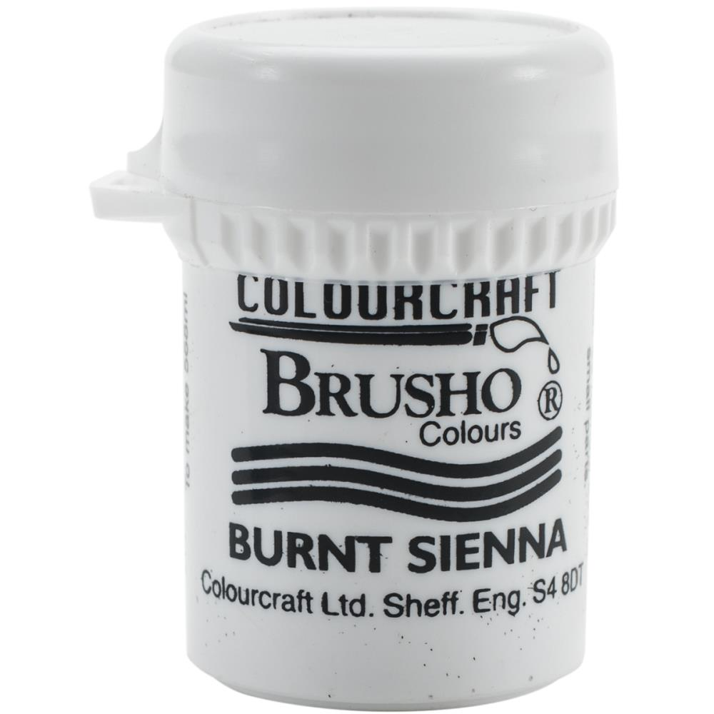 Colourcraft - Brusho Crystal Color - Burnt Sienna