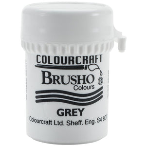 Colourcraft - Brusho Crystal Color - Grey