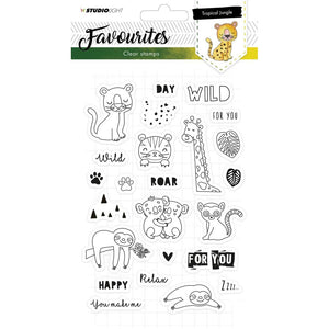 Studio Light - Favourites - 333 - Clear Polymer Stamps