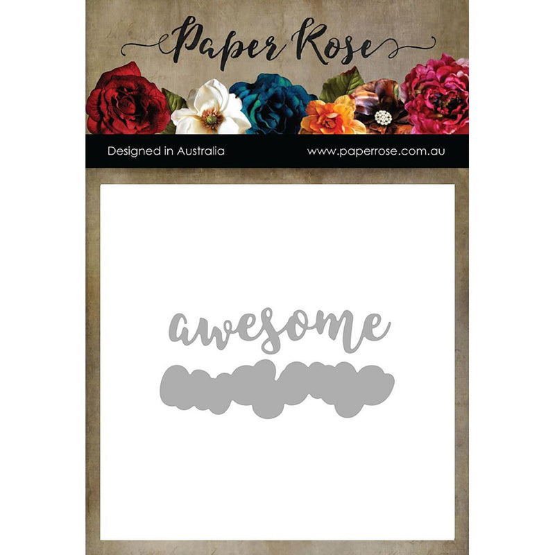 Paper Rose - Layered Awesome - Die