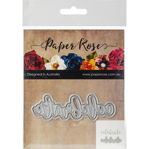 Paper Rose - Layered Celebrate - Die