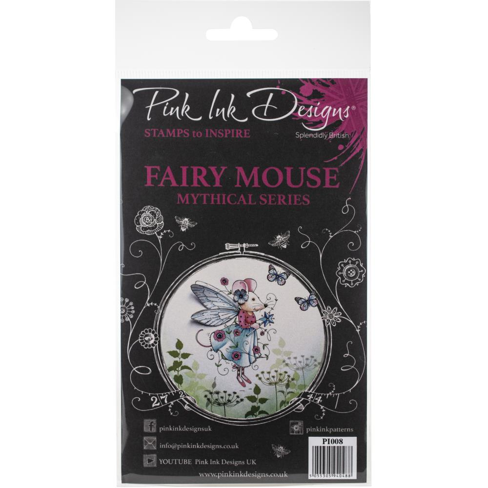 Pink Ink Designs - Clear Photopolymer Stamps - Fairy Mouse