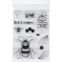 Pink Ink Designs - Clear Photopolymer Stamps - Bee-utiful