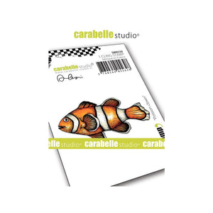 Carabelle Studio - Rubber Cling Stamp - Clown Fish