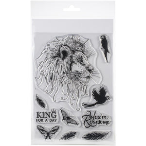 Pink Ink Designs - Clear Photopolymer Stamps - Lion