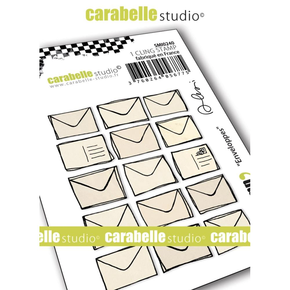 Carabelle Studio - Cling Stamp - Envelopes