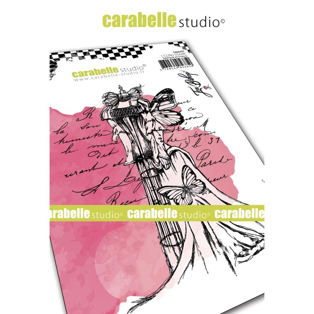 Carabelle Studio - Rubber Cling Stamp A6 - Dressform - Jen Bishop