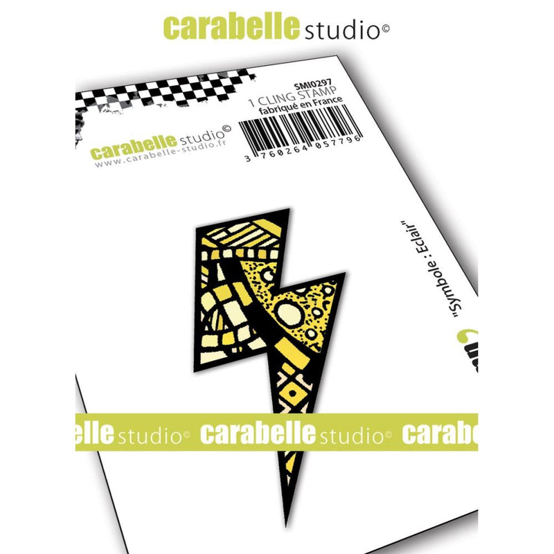 Carabelle Studio - Cling Stamp - Lightning Bolt - Flash