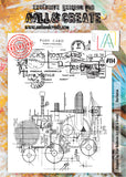 AALL & Create - Clear Stamp Set - #114 - A4 - Red Baron - PREORDER