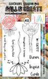 AALL & Create - Clear Stamp Set - #123 - A6 - Blossomed Dreams - PREORDER