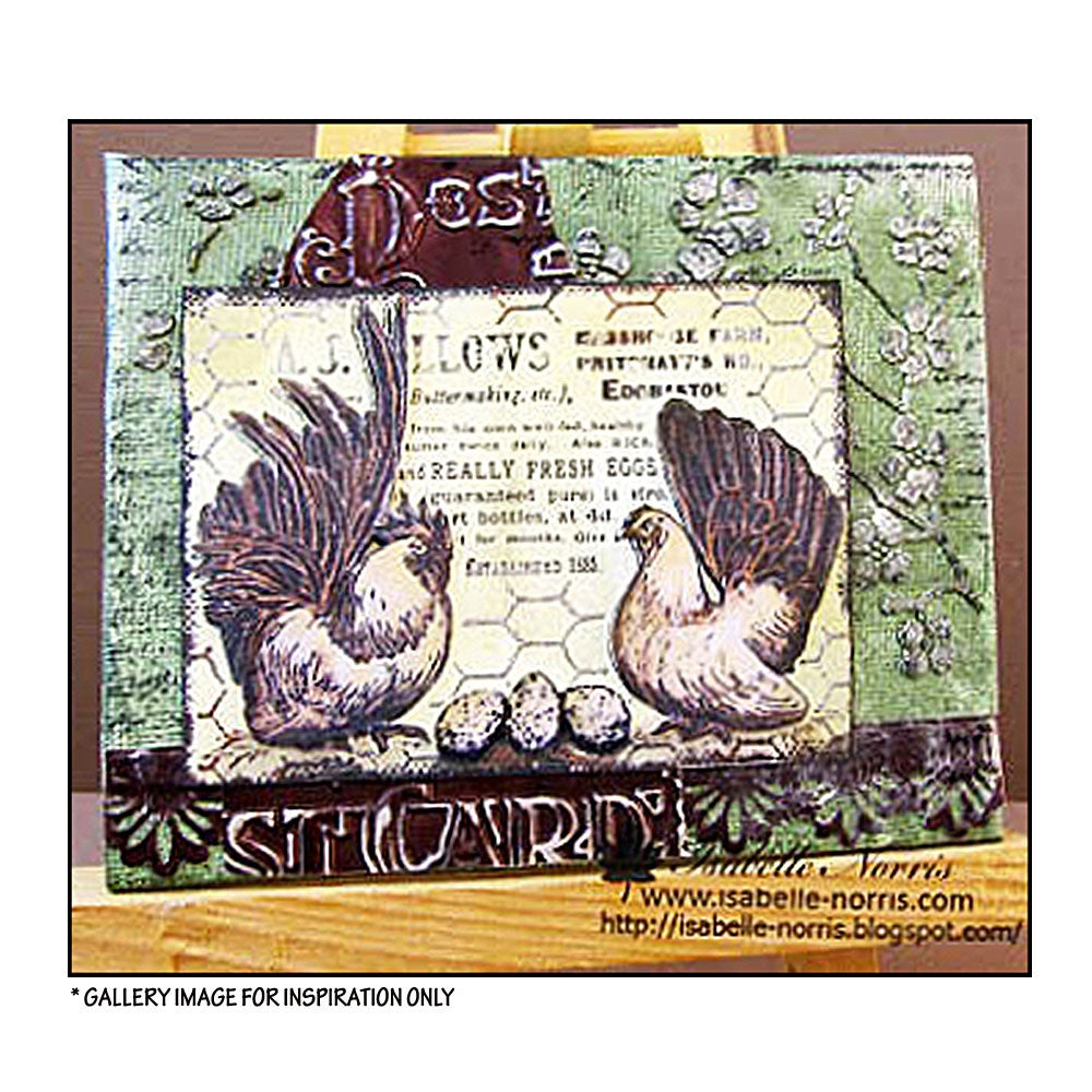 Crafty Individuals - Unmounted Rubber Stamp - 289 - Fresh Eggs