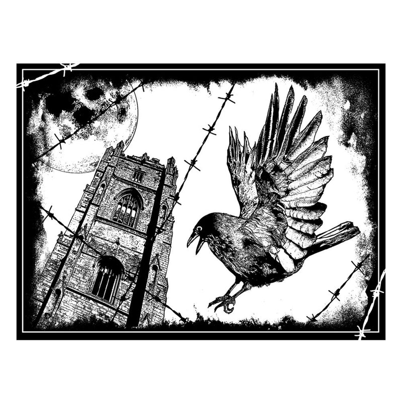Crafty Individuals - Unmounted Rubber Stamp - 319 - The Crow