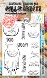 AALL & Create - Clear Stamp Set - #136 - A6 - Spooky - PREORDER