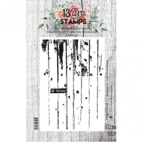 13@rts - Aida Domisiewicz - Clear Stamp Set - Magic Door