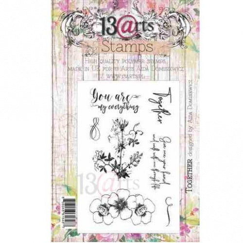 13@rts - Aida Domisiewicz - Clear Stamp Set - Together