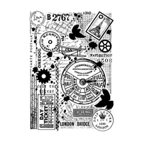 Crafty Individuals - Unmounted Rubber Stamp - 499 - Full Steam Ahead
