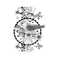 Crafty Individuals - Unmounted Rubber Stamp - 515 - Nesting Instinct
