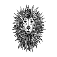 Crafty Individuals - Unmounted Rubber Stamp - 524 - Lion King