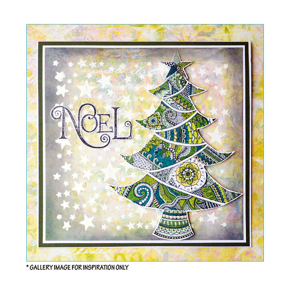 Crafty Individuals - Unmounted Rubber Stamp - 530 - O Christmas Tree