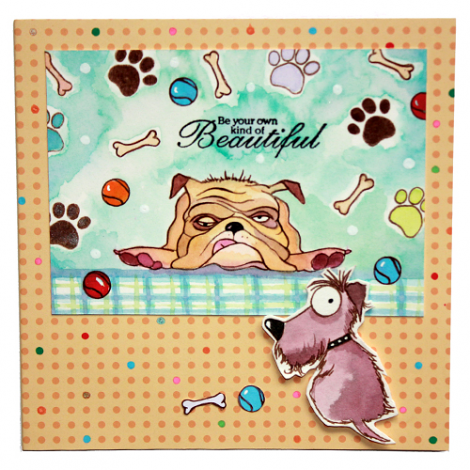 Hobby Art Stamps - Clear Polymer Stamp Set - Dogz